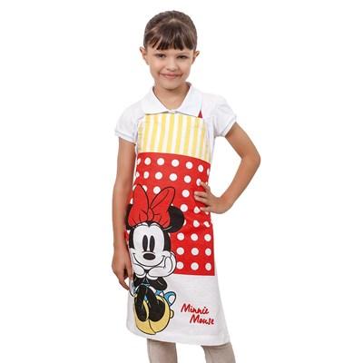 Avental Infantil Disney Mickey e Minnie Lepper