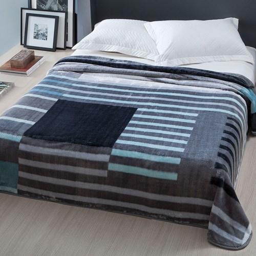Cobertor Casal Corttex Home Design Raschel