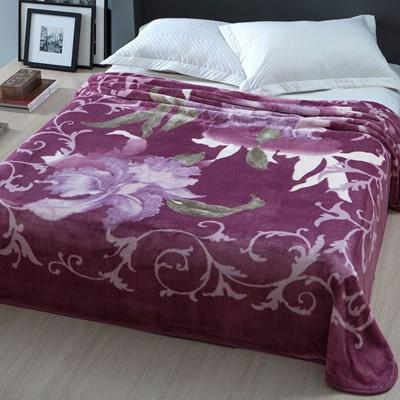 Cobertor Casal Corttex Home Design Raschel Florentine