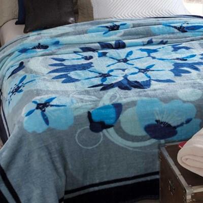 Cobertor Casal Jolitex Dyuri Toque Extra Macio Estampado.