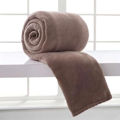 Cobertor de Microfibra King Home Design Corttex Liso