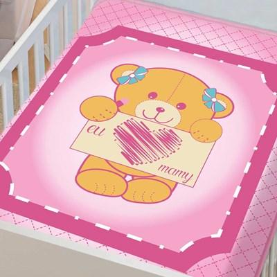 Cobertor Infantil Para Bebê Tradicional Menina Jolitex
