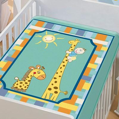 Cobertor Infantil Para Bebê Tradicional Menino II Jolitex