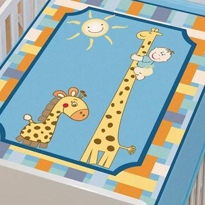 Cobertor Infantil Para Bebê Tradicional Menino Jolitex