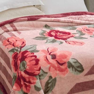 Cobertor Jolitex Pelo Alto Casal 1,80 x 2,20m Rozen