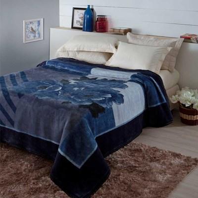 Cobertor Jolitex Pelo Alto Casal 1,80 x 2,20m Tramore