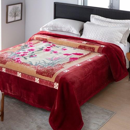 Cobertor Jolitex Raschel Casal 1,80 x 2,20m Adriatico