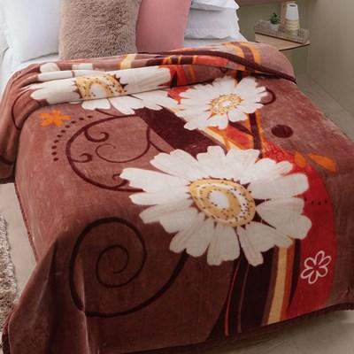 Cobertor Jolitex Raschel Casal 1,80 x 2,20m Caster