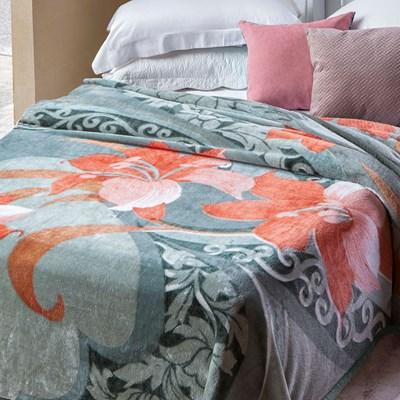 Cobertor Jolitex Raschel Casal 1,80 x 2,20m Danubio