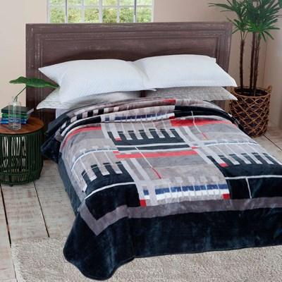 Cobertor Jolitex Raschel Casal 1,80 x 2,20m Modulo
