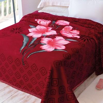 Cobertor Jolitex Raschel Casal 1,80 x 2,20m Palouse