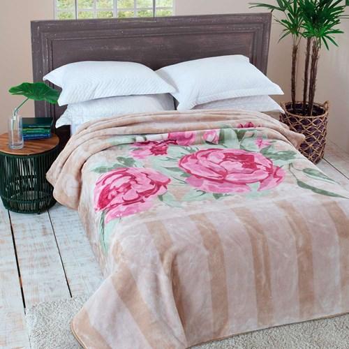 Cobertor Jolitex Raschel Casal 1,80 x 2,20m Primore
