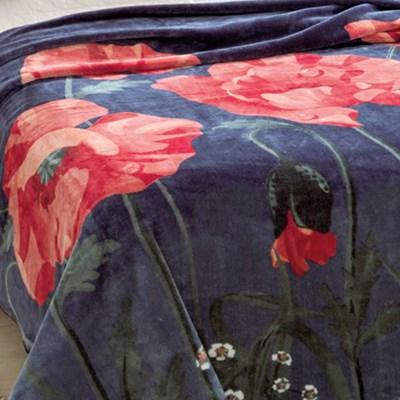 Cobertor Jolitex Raschel King 2,20 x 2,40m Florecer