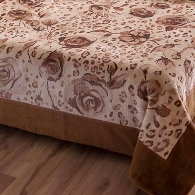 Cobertor Jolitex Raschel Toque Macio Casal 1,80x2,20m Java