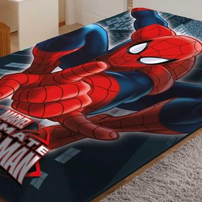 Cobertor Raschel Solteiro Spider-Man Ultimate Jolitex