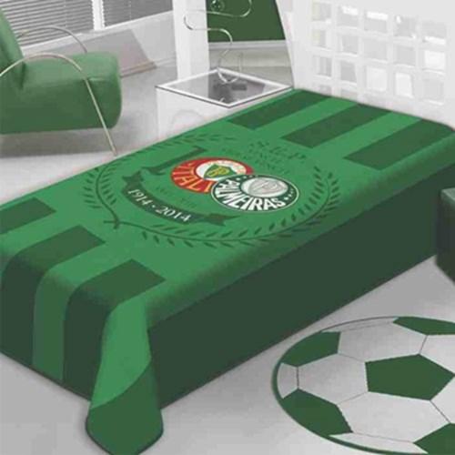 Cobertor Solteiro Jolitex Raschel Palmeiras Palestra
