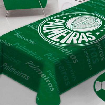 Cobertor Solteiro Raschel Palmeiras Estampa Nova Jolitex.