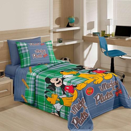 Colcha Solteiro Infantil Disney Piquet Santista