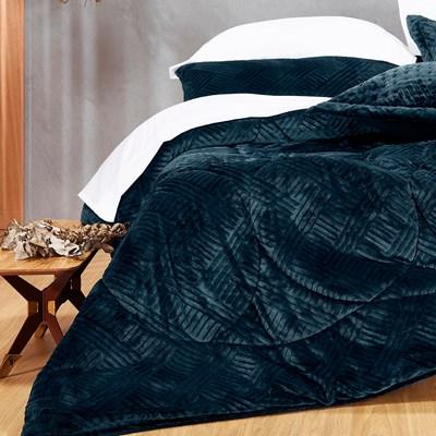 Edredom Solteiro Altenburg Blend Elegance Plush Premium