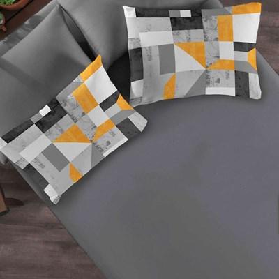 Jogo de lençol Casal Malha 100%Algodão 3 Pçs CasaElegance