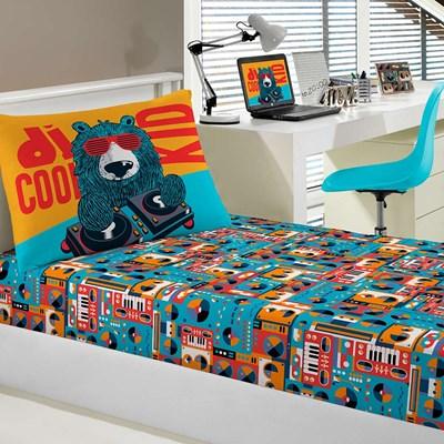 Jogo de lençol Infantil Malha 100% Algodão PortalJoy