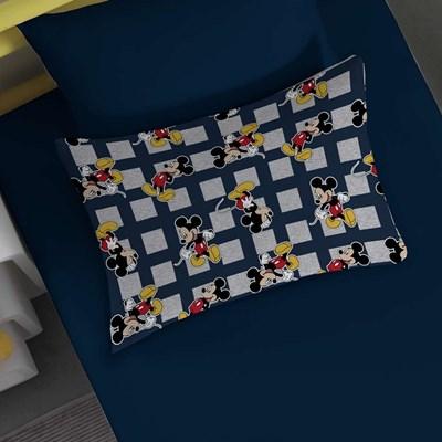 Jogo de Lençol Queen Mickey e Minnie Disney Malha Portallar