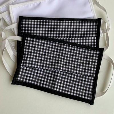 Kit 6 Máscaras de Proteção Tecido Duplo 100%Algodão Lavável e Reutilizável
