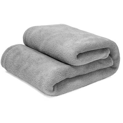 Manta Cobertor Casal 100% Microfibra Flannel 180G/m²