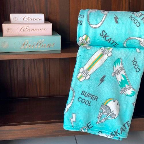 Manta Flannel Infantil Microfibra Estampada Andreza