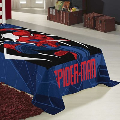 Manta Infantil Fleece Soft Spider-Man Lepper.