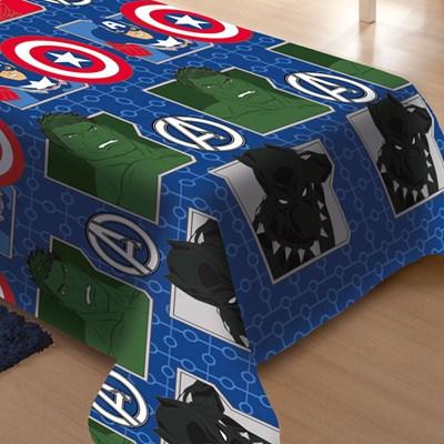 Manta Jolitex Soft Solteiro 1,50 x 2,00m Avengers Vingadores