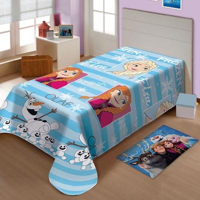 Manta Jolitex Soft Solteiro 1,50 x 2,00m Frozen II