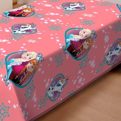 Manta Jolitex Soft Solteiro 1,50 x 2,20m  Frozen