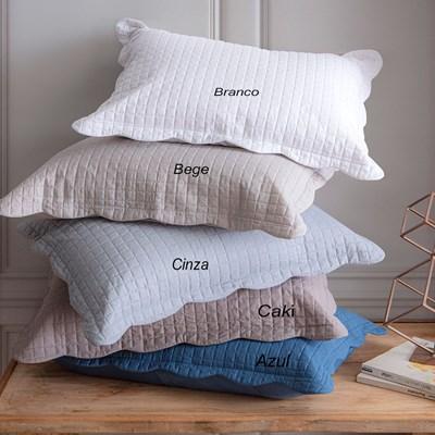 Porta travesseiro Ultrassonic Pastilha Milão Corttex