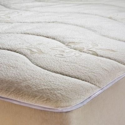 Protetor de Colchão e Pillow Top Impermeável Queen Luxury Pad