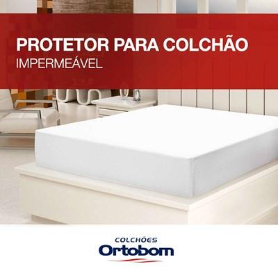 Protetor para Colchao Queen impermeável Ortobom