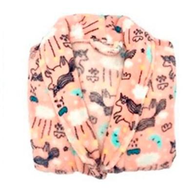 "Roupão Microfibra Infantil Fleece Camesa ""M"""