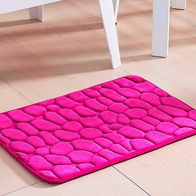 Tapete Multiuso Relevo Pedra Pink.