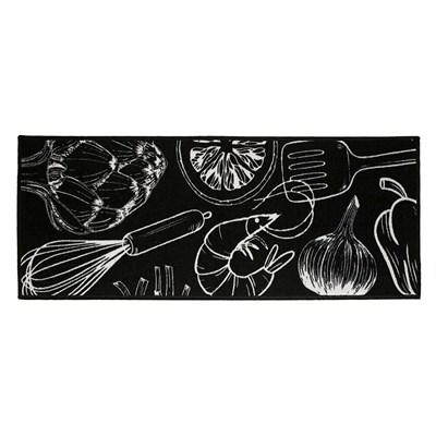Tapete Passadeira para Cozinha 0,50x1,40cm CleanKasa Kapazi