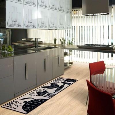 Tapete Passadeira para Cozinha 0,50x1,60cm CleanKasa Kapazi