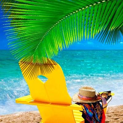 Toalha Aveludada Praia & Piscina Summer Buettner