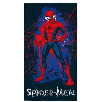Toalha Banho-Praia Aveludada Homem Aranha Spider Lepper.