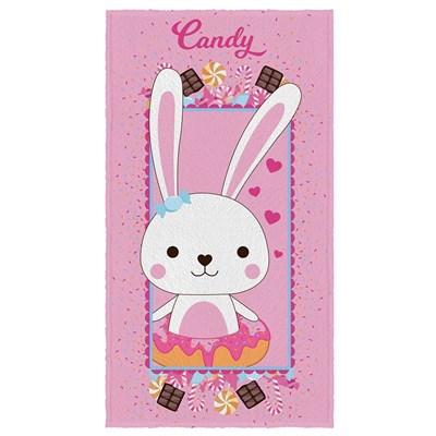 Toalha de Banho Felpuda Candy Estampada Lepper