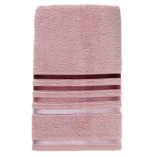 Toalha de Banho Gigante Karsten Lumina Cor Rosê