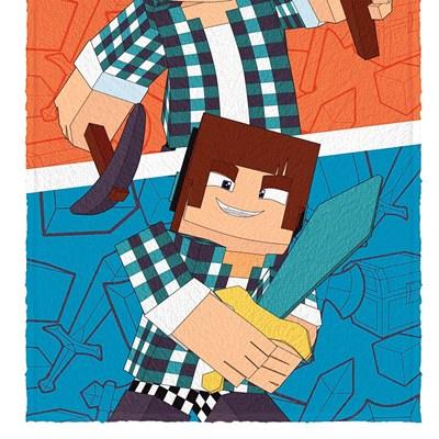 Toalha de Banho Infantil Felpuda Authentic Games Lepper 02