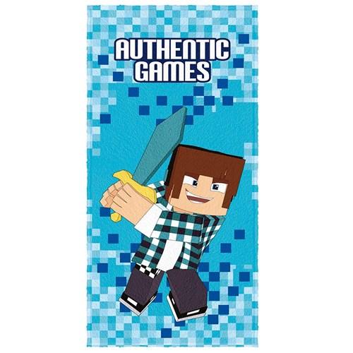 Toalha de Banho Infantil Felpuda Authentic Games Lepper 05