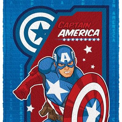 Toalha de Banho Infantil Felpuda Avengers 2 Lepper