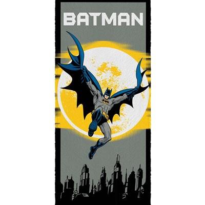 Toalha de Banho Infantil Felpuda Batman Lepper Padrão 01