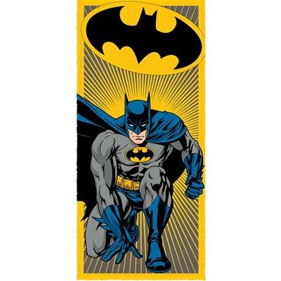 Toalha de Banho Infantil Felpuda Batman Lepper Padrão 02