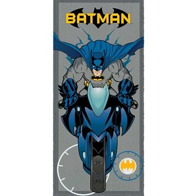 Toalha de Banho Infantil Felpuda Batman Lepper Padrão 03